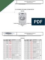 Despiece Lavadora Secadora AP Drum26520 Haceb