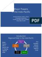Thayer Major Powers and the Indo-Pacific Region