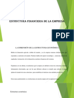 2 Estructura Financiera de La Empresa