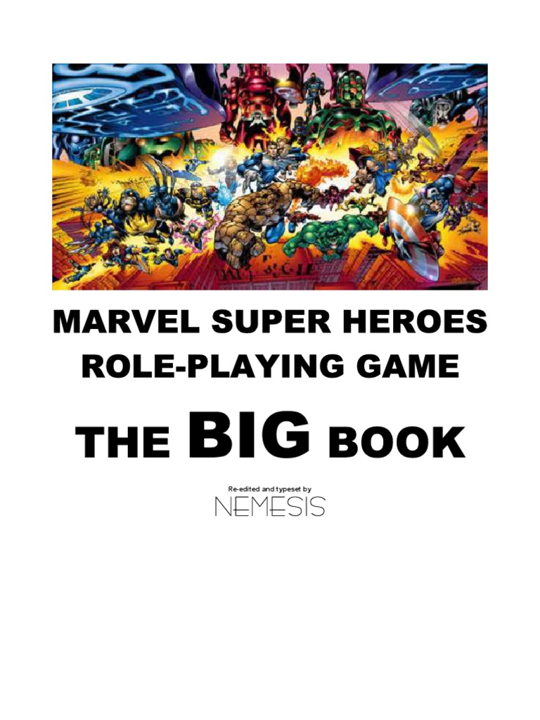 e5eab6f03f Marvel Superheroes - Big Book of Characters