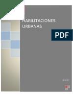 Habilitaciones Urbanas.informe