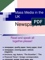 435-Презентация Mass Media UK Newspapers Рау И.А.