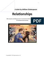 1. Romeo and Juliet - Relationships- Introduction