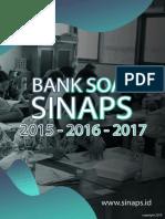 Bank Soal Sinaps 2019