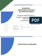 Capitulo 8 Proteccion de Generadores y Motores 20182