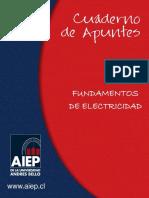 CUADERNO DE APUNTES FUNDAMENTOS DE ELECTRICIDAD AIEP