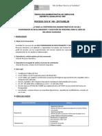 1 3enero2018 CAS 149 Coordinador Reclutamiento Selección Personal
