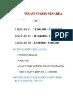 TARIF OPERASI SEKSIO SESAREA.docx