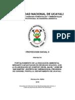 Proyecto RS-II (Compost) 2018-II AA.HH. JDSM
