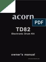 Acorn TD82 Usermanual