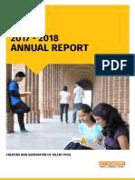 Annu a Report 2018