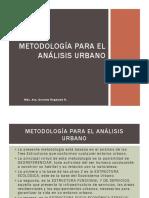 Análisis Urbano Metodología