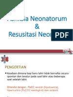 Asfiksia Neonatorum & Resusitasi.revisi