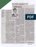 Daily Tribune, June 26, 2019, Reflections.pdf