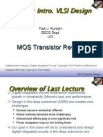 Lec2-MOS Transistor Review