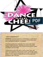 Cheer Dance Powerpoint