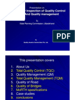Quality, Quality Control and Quality Management