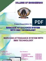 Barcode Attendance