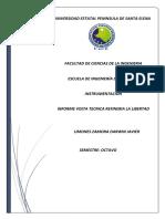 Tarea 1 Informe Visita Tecnica Refineria La Libertad