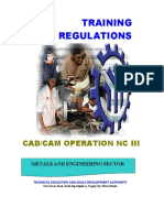 Cad Cam Operation Nc III