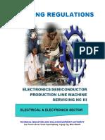 TR - Electronics-Semicon Production Line Machine Servicing NC III