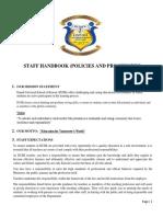 Staff Handbook 2019-2020