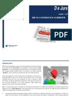 Dejure - SEBI on Compensation Agreements