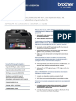 Impresora Multifuncion Brother Mfc j5330dw