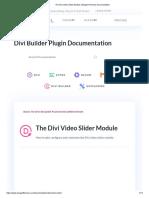 Video Slider Module _ Elegant Themes Documentation