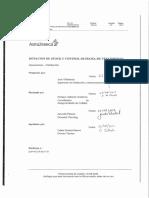 Modelo avanzado de informe