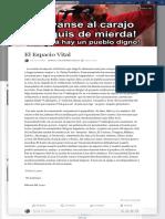 (62) Nelson Lopez.posición política, pensamiento, diálogo, caricuao.