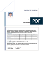 Somnath CV PDF