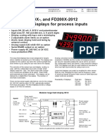 Load Display Fd100-Fd200 Datasheet