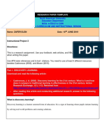 research paper template-instructional project 3 -