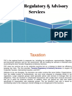 Taxation Regulatory & Advisory Services