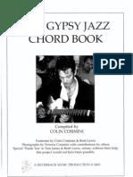 Gypsy Jazz Chord Book - Vol 1