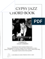 Gypsy Jazz Chord Book - Vol 1