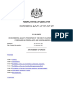 Environmental Quality Prohibition on the Use of Chlorofluorocarbons and Other Gases as Propellants and Blowing Agents Order 1993 P.U.a 434 93