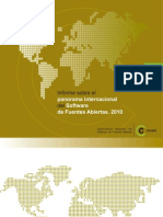 Informe sobre el panorama Internacional del software de Fuentes abiertas 2010
