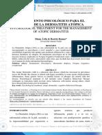 Dialnet-TratamientoPsicologicoParaElManejoDeLaDermatitisAt-4815136