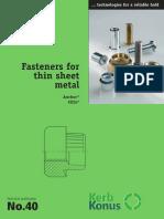Fasteners for Thin Sheet Metalen en.ds.40