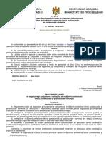 Regulament-cadru de Org Şi Funcţ. a Instituţiilor de Nivelul IV, V Din 10.06.2015
