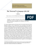 Foreword to Language of the Self.pdf