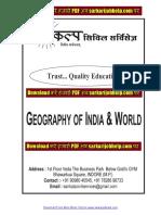 World Geography Notes PDF - www.sarkarijobhelp.com.pdf