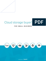Cloud Storage Buyer's Guide With Comparison