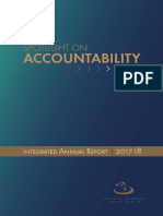 Integrated Annual Report 2017-18 Annual Report