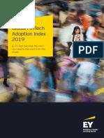 EY Global FinTech Adoption Index 2019
