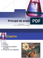 Curs 2 - Principii Anestezie