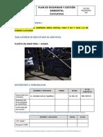 Plan de Seguridad - Limpieza de Faja y Cesta - Aceria v2