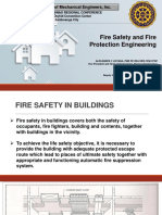 Fire Safety and Fire Protection Engineering